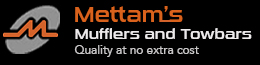logo for Mettams Mufflers